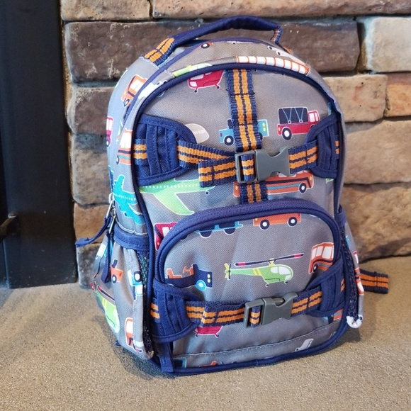 6c4ded780a Pottery Barn Pre-K Transportation Backpack NWOT. M 5c52ffae4ab6332902b5abfd
